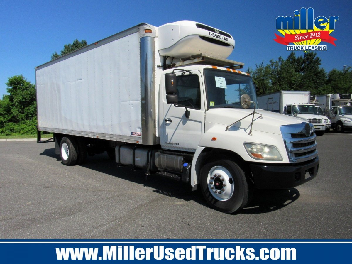 USED 2013 HINO 338 REEFER TRUCK #2615