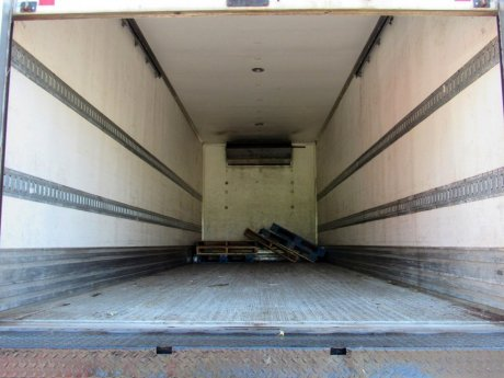 USED 2013 HINO 338 REEFER TRUCK #2615-17