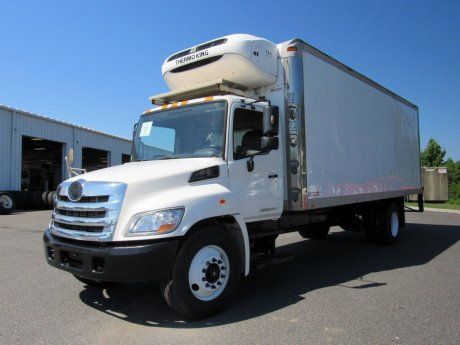 USED 2013 HINO 338 REEFER TRUCK #2615-3