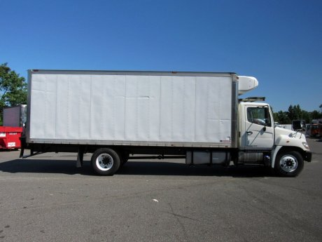 USED 2013 HINO 338 REEFER TRUCK #2615-7