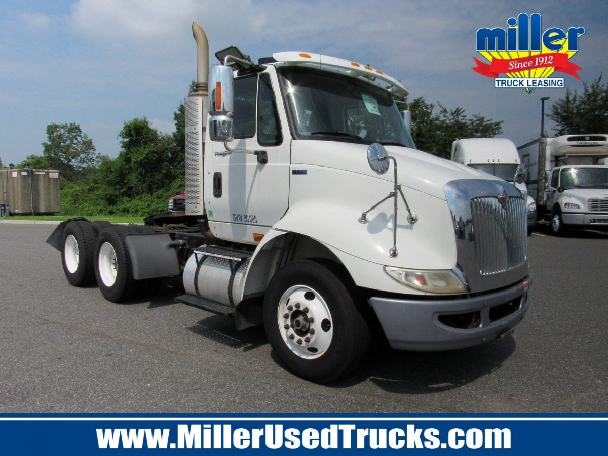USED 2012 INTERNATIONAL 8600 TANDEM AXLE DAYCAB TRUCK #2616