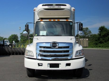 USED 2013 HINO 338 REEFER TRUCK #2674-2