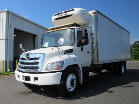 USED 2013 HINO 338 REEFER TRUCK #2674-3
