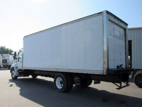 USED 2013 HINO 338 REEFER TRUCK #2674-4
