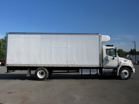 USED 2013 HINO 338 REEFER TRUCK #2674-7
