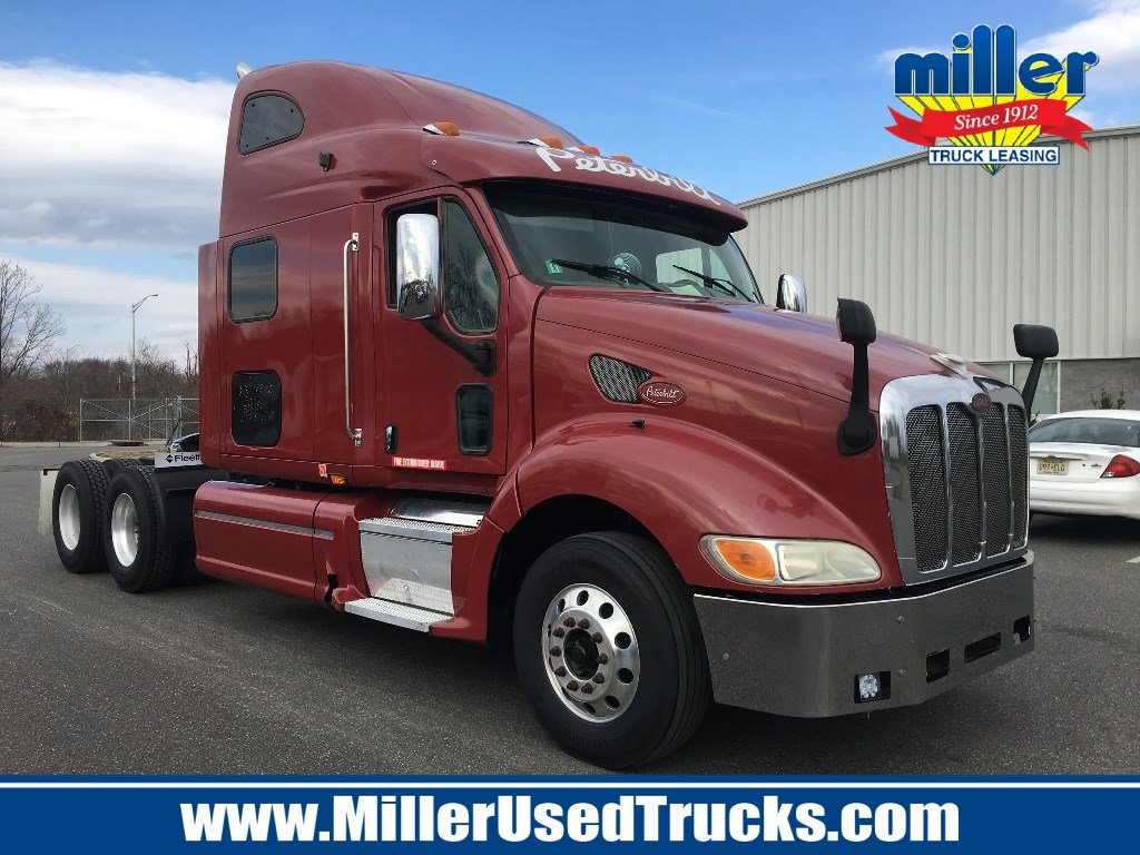 USED 2010 PETERBILT 387 TANDEM AXLE SLEEPER TRUCK #2915