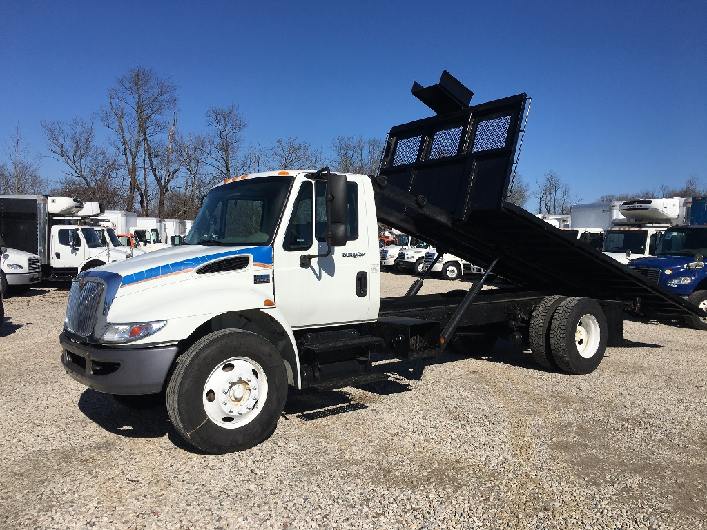 USED 2014 INTERNATIONAL 4300 ROLL-OFF TRUCK #2985