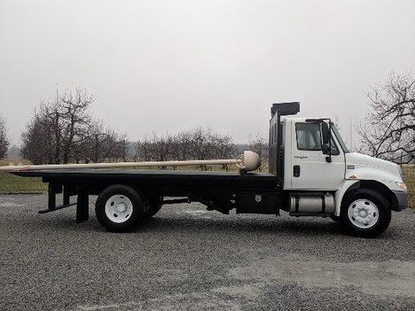 USED 2014 INTERNATIONAL 4300 ROLL-OFF TRUCK #2988-4