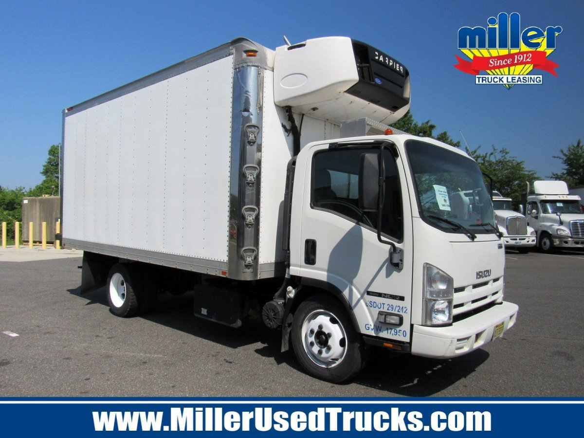 USED 2012 ISUZU NQR REEFER TRUCK #2999