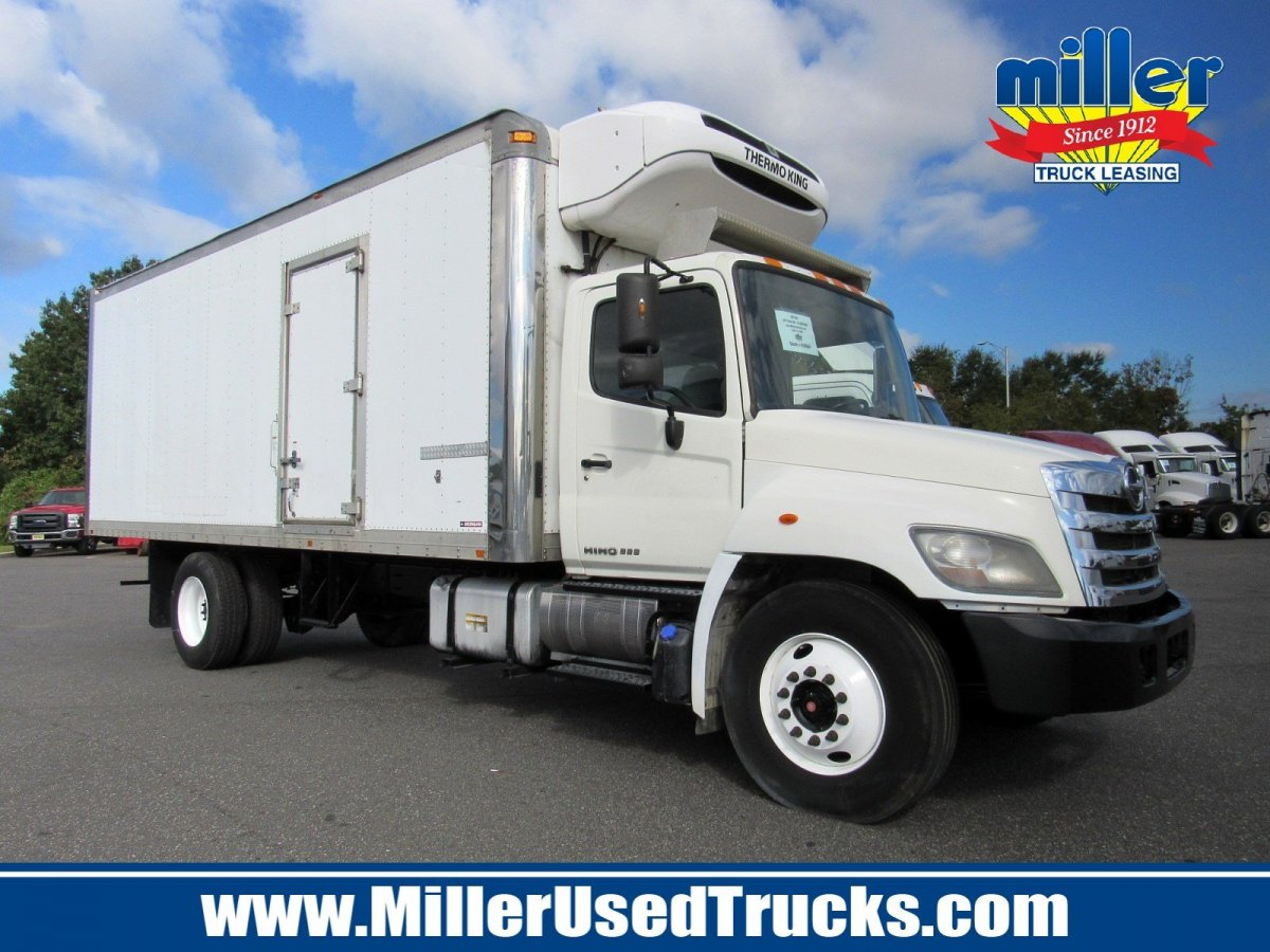 USED 2012 HINO 338 REEFER TRUCK #3074