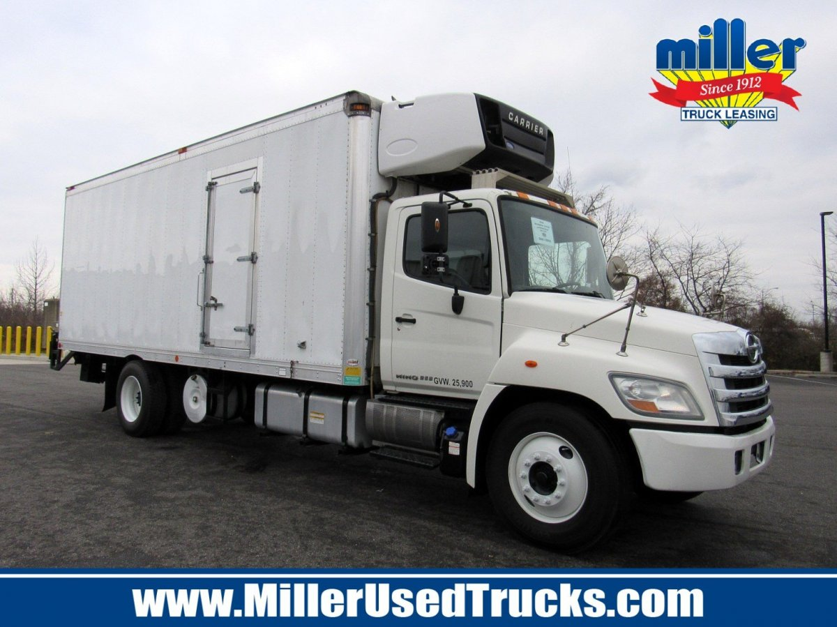 USED 2012 HINO 268A REEFER TRUCK #3168