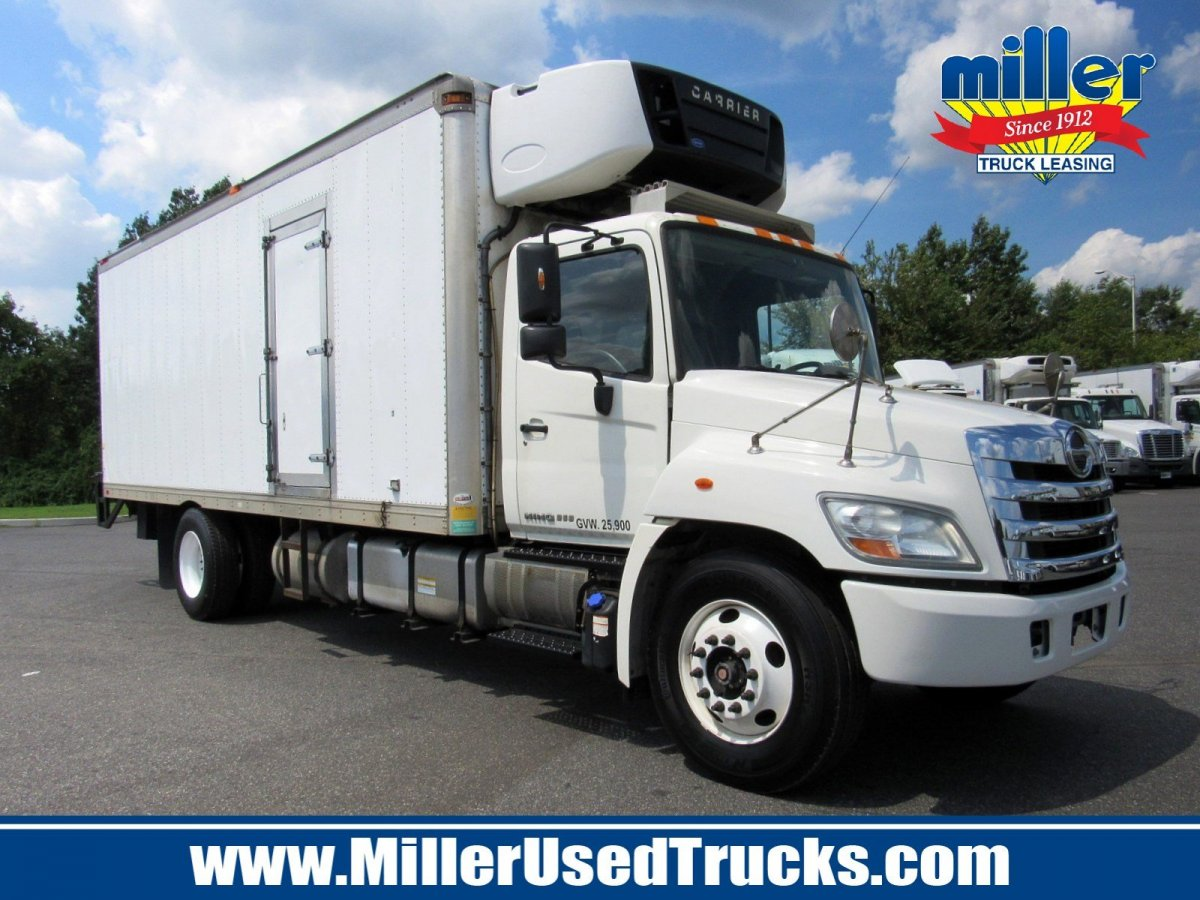 USED 2012 HINO 268A REEFER TRUCK #3169