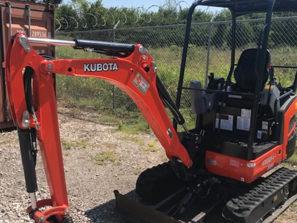USED 2016 KUBOTA KX018-4 MINI EXCAVATOR EQUIPMENT #1658