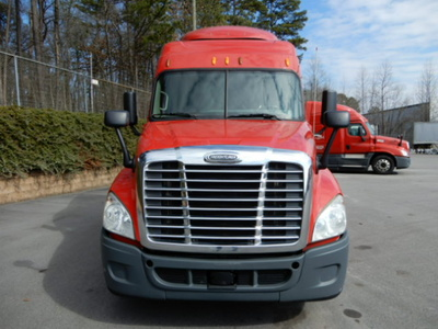 USED 2014 FREIGHTLINER CASCADIA SLEEPER TRUCK #3245-3