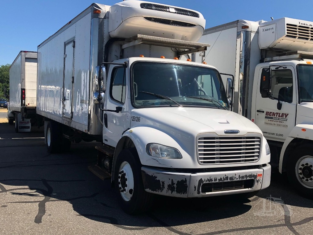 USED 2012 FREIGHTLINER BUS CLASS M2 106 REEFER TRUCK #3889