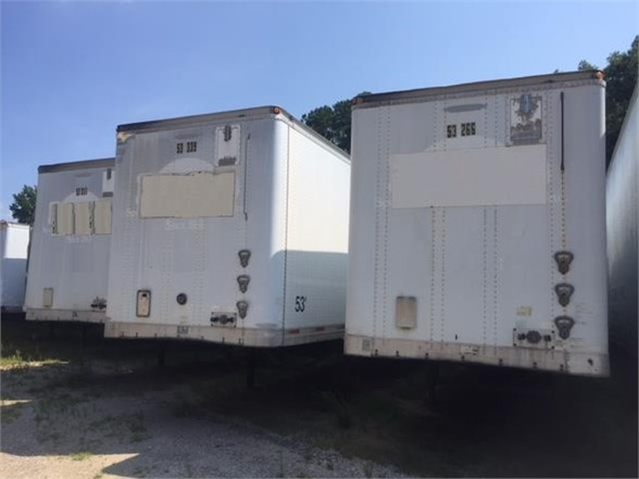 USED 2002 TRAILMOBILE VAN TRAILER #1864