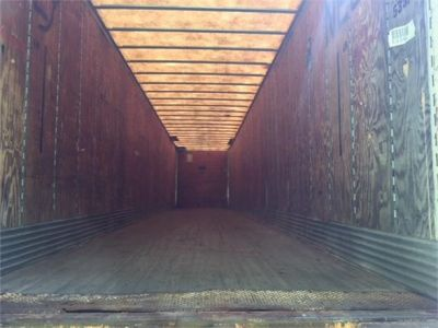 USED 2002 TRAILMOBILE VAN TRAILER #1864-4