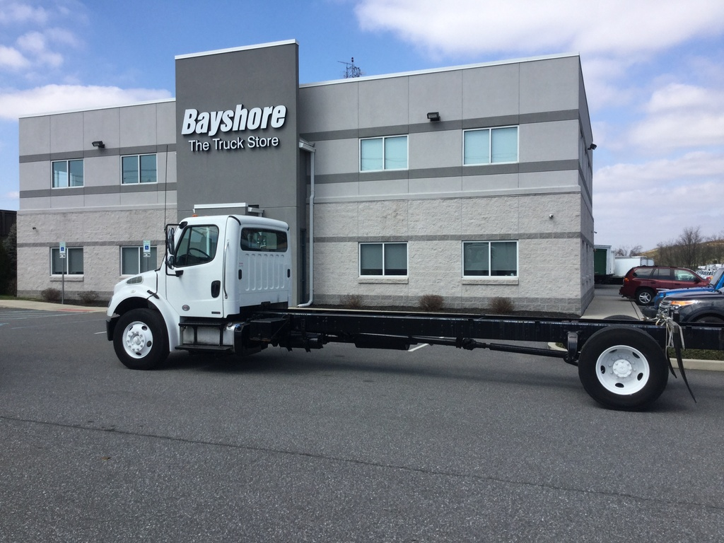 USED 2012 FREIGHTLINER M2 106 MEDIUM CAB CHASSIS TRUCK #10808