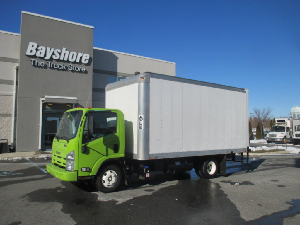 USED 2014 ISUZU NPR HD BOX VAN TRUCK #6661