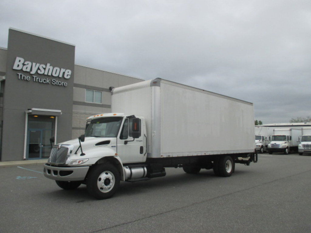 USED 2013 INTERNATIONAL 4000 SERIES 4300 BOX VAN TRUCK #632685