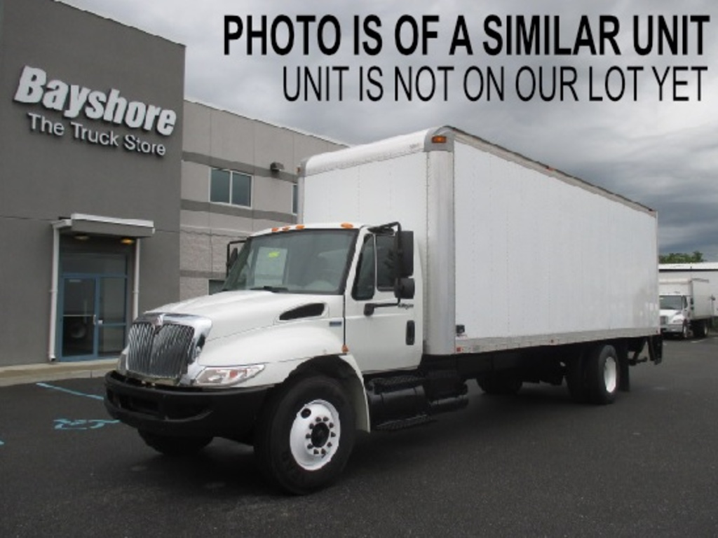 USED 2013 INTERNATIONAL 4000 SERIES 4300 BOX VAN TRUCK #637896