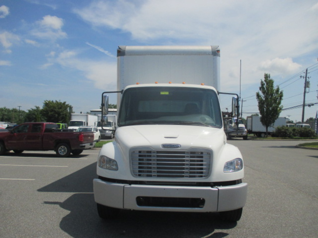 USED 2012 FREIGHTLINER M2 106 MEDIUM BOX VAN TRUCK #7992-2