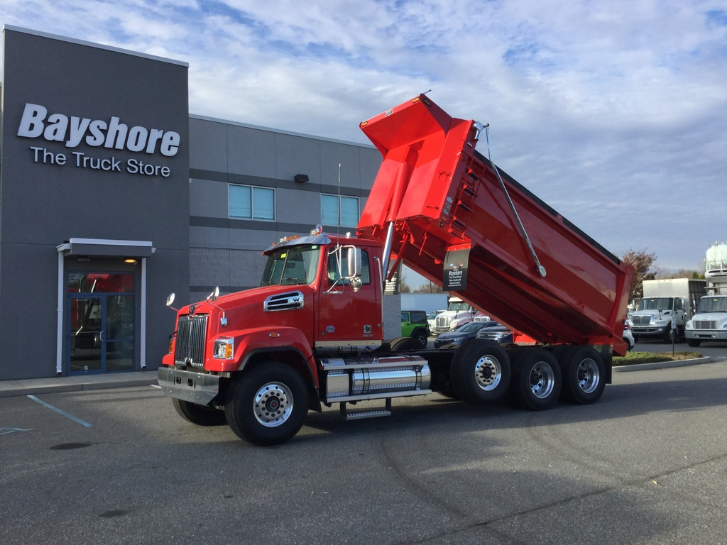 NEW 2020 WESTERN STAR CONVENTIONAL 4700SF DUMP TRUCK #8822