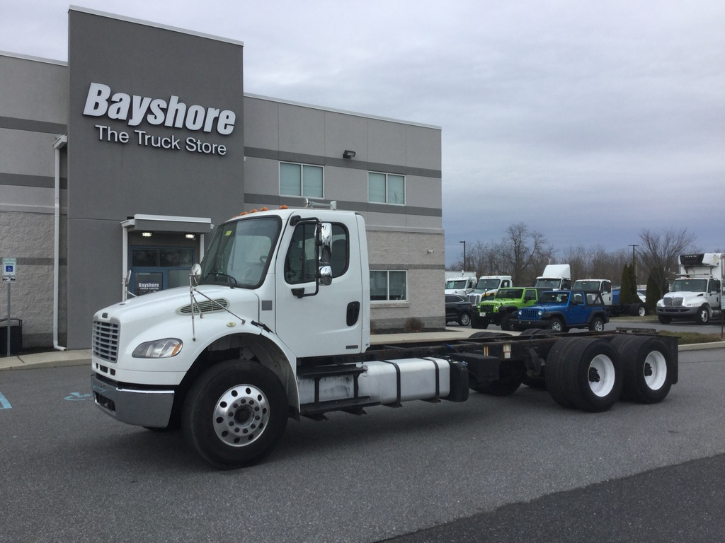 USED 2012 FREIGHTLINER M2 106 MEDIUM CAB CHASSIS TRUCK #9893