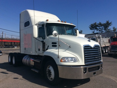 USED 2015 MACK CXU613 TANDEM AXLE SLEEPER TRUCK #10887-1