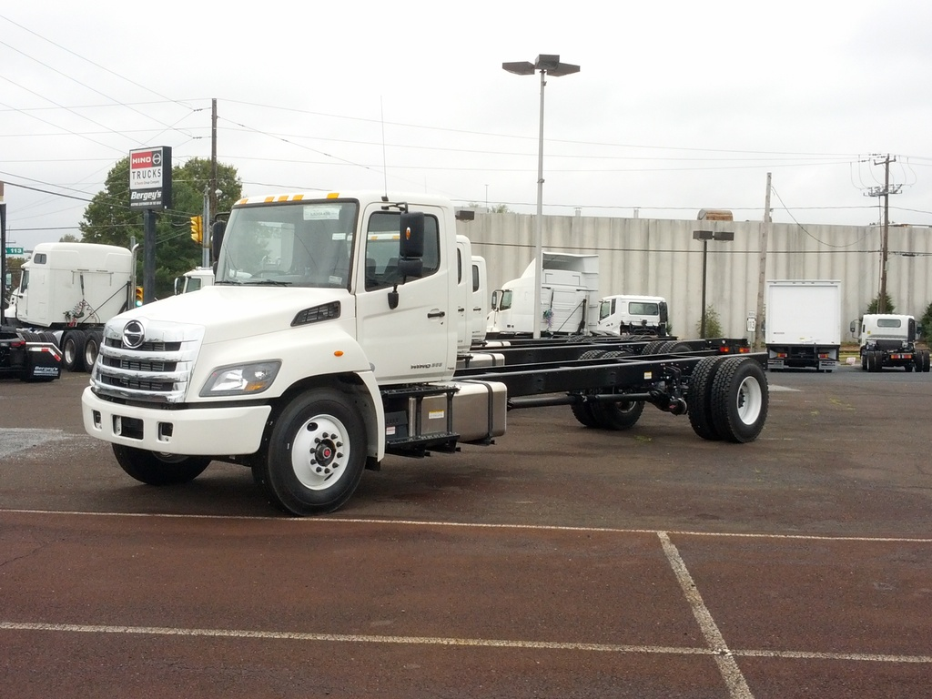NEW 2020 HINO 268A CAB CHASSIS TRUCK #11039
