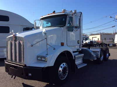 USED 2008 KENWORTH T800 TANDEM AXLE DAYCAB TRUCK #12616-2