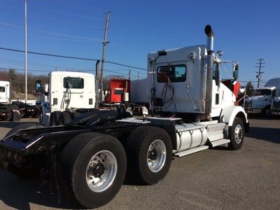USED 2008 KENWORTH T800 TANDEM AXLE DAYCAB TRUCK #12616-3
