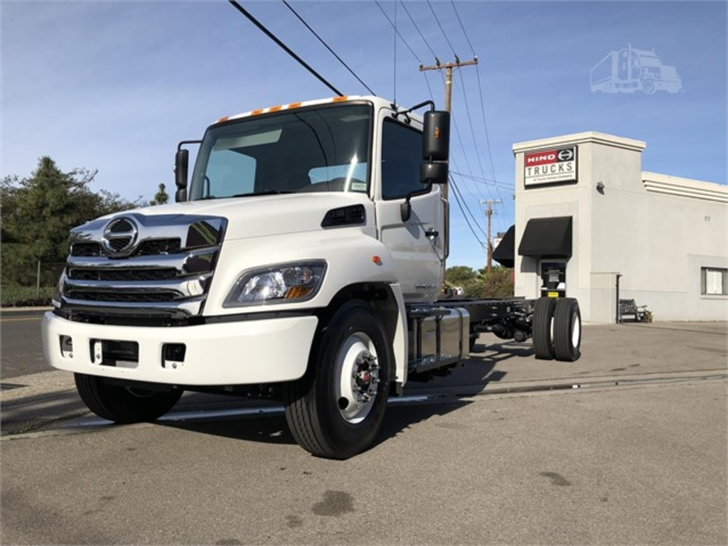NEW 2021 HINO L6 CAB CHASSIS TRUCK #12808
