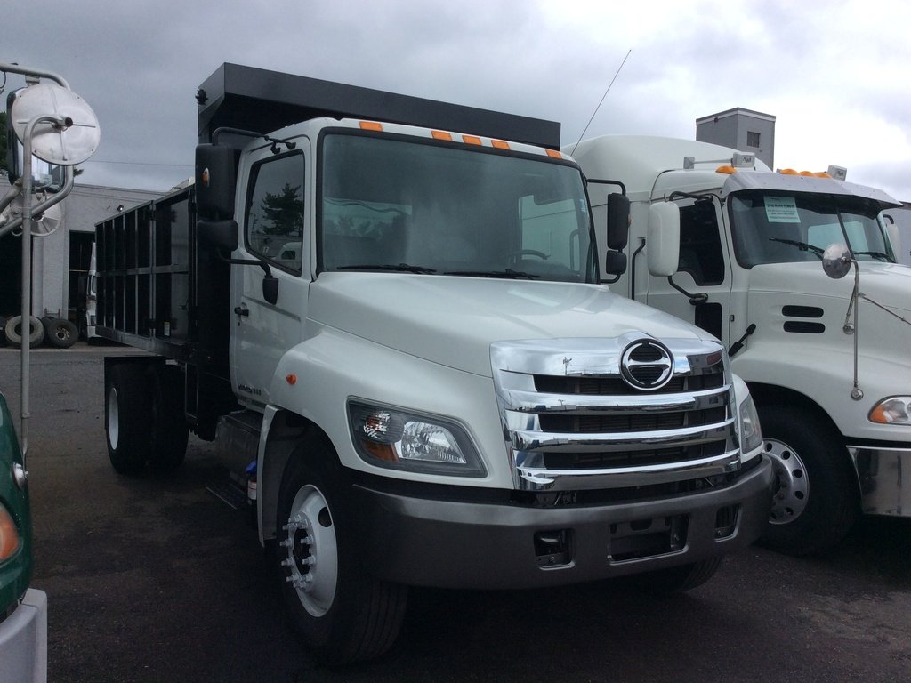 USED 2016 HINO 268A DUMP TRUCK #181162