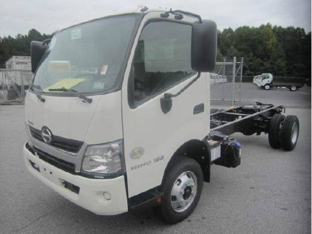 NEW 2019 HINO 195 CAB CHASSIS TRUCK #8572