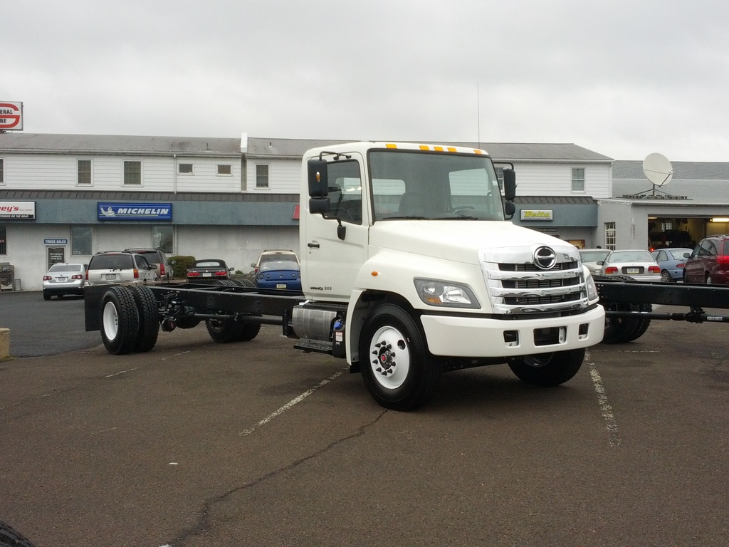NEW 2019 HINO 338 CAB CHASSIS TRUCK #9475