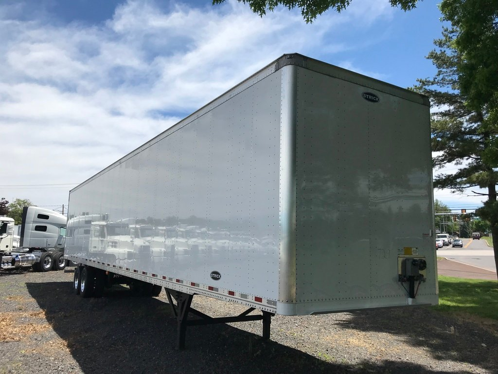 NEW 2019 STRICK 53.0 VAN TRAILER #9790
