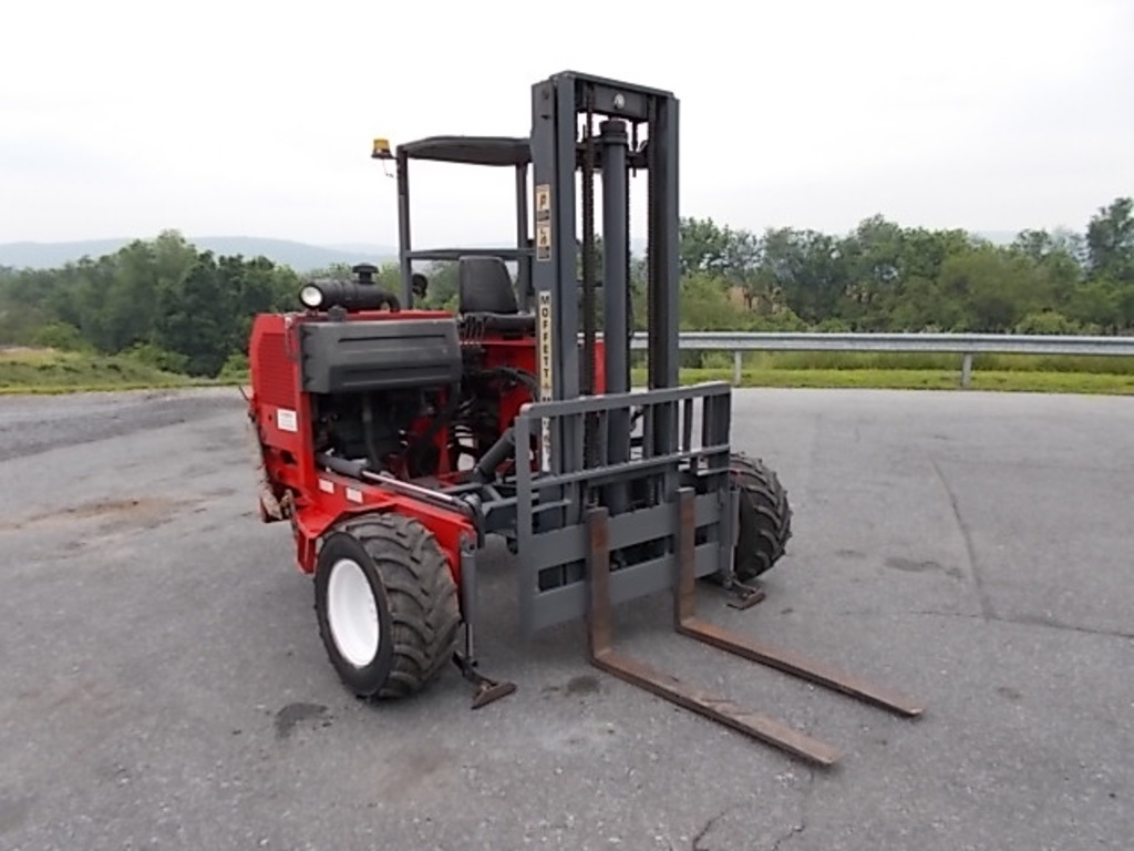 USED 2004 MOFFETT M5000 MAST FORKLIFT EQUIPMENT #84791