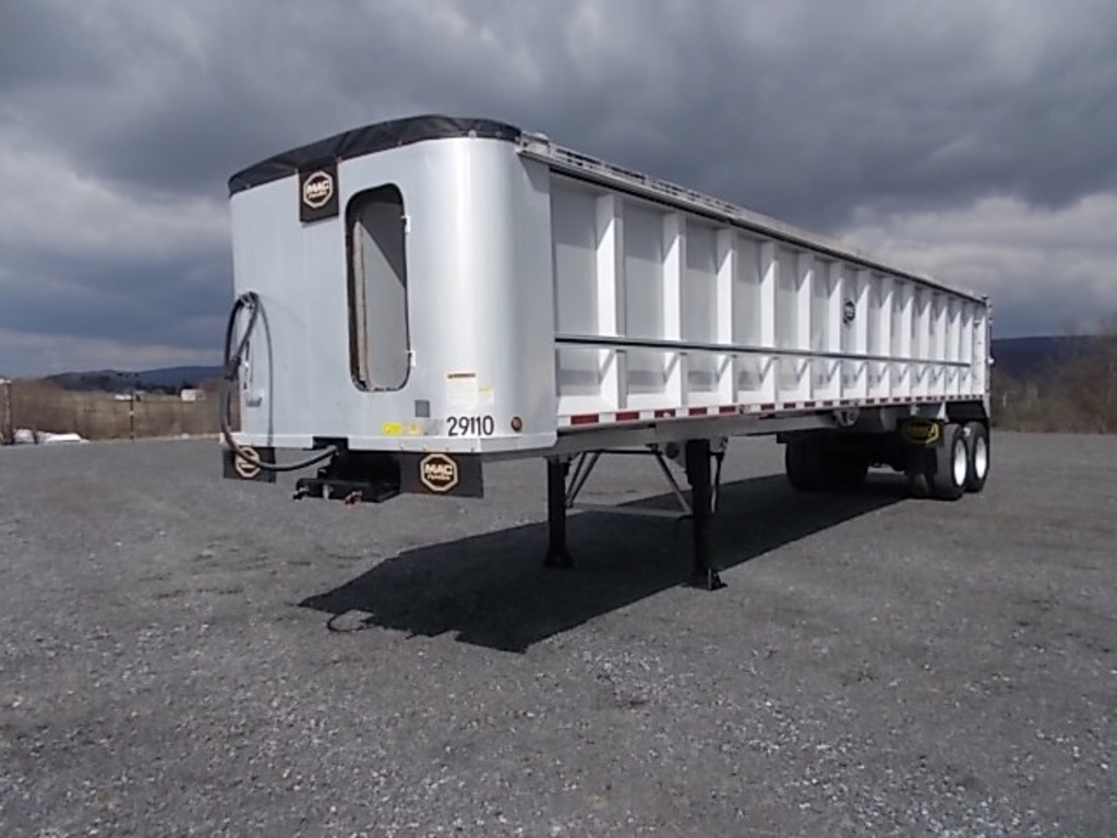 USED 2014 MAC 40 END DUMP END DUMP TRAILER #119633