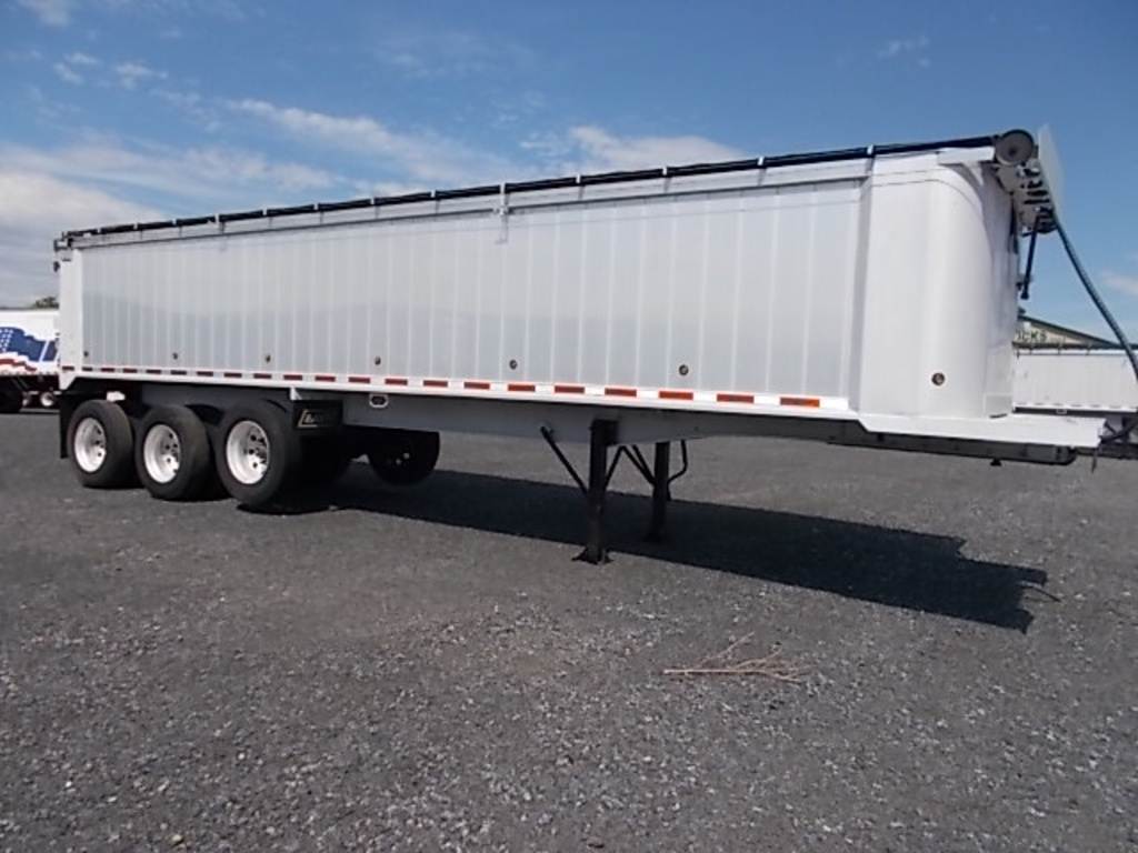 USED 2008 EAST 36' END DUMP END DUMP TRAILER #122224