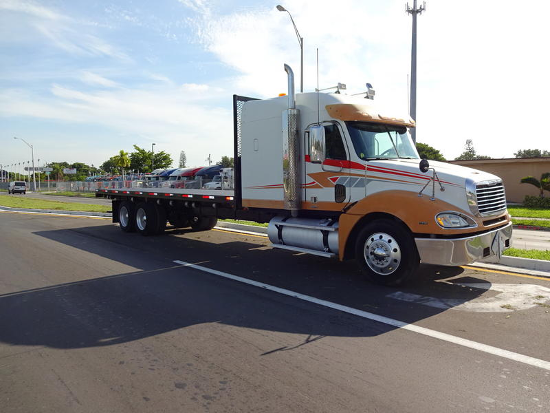 Freightliner Flatbed Truck For Sale 10896