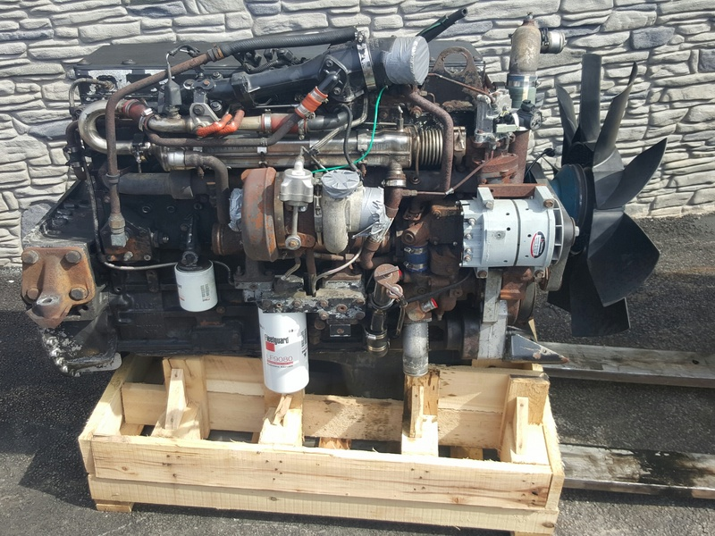 2003 CUMMINS ISM  Complete Engine #1058