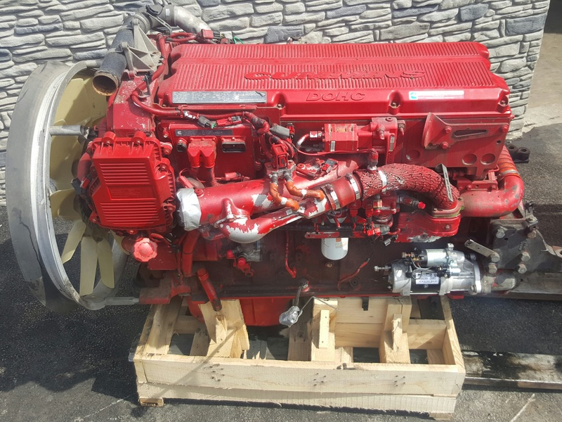 2007 CUMMINS ISX 400 (EGR,DPF) Complete Engine #1059