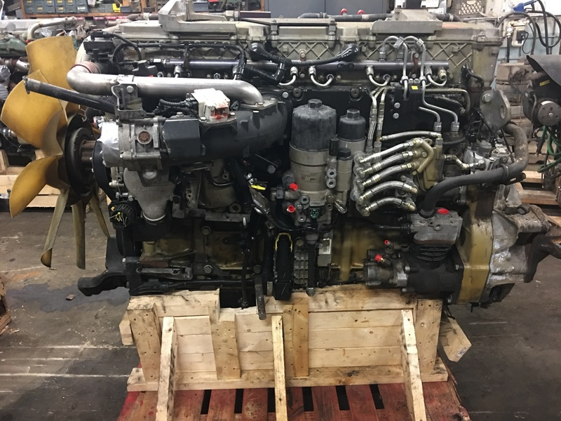 2008 DETROIT DD15 ENGINE ASSEMBLY TRUCK PARTS #396744