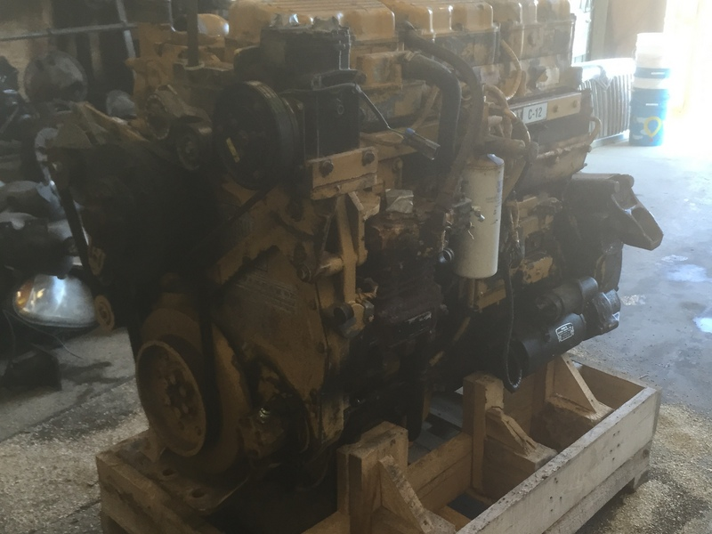 1999 CATERPILLAR C12 ENGINE ASSEMBLY TRUCK PARTS #576871