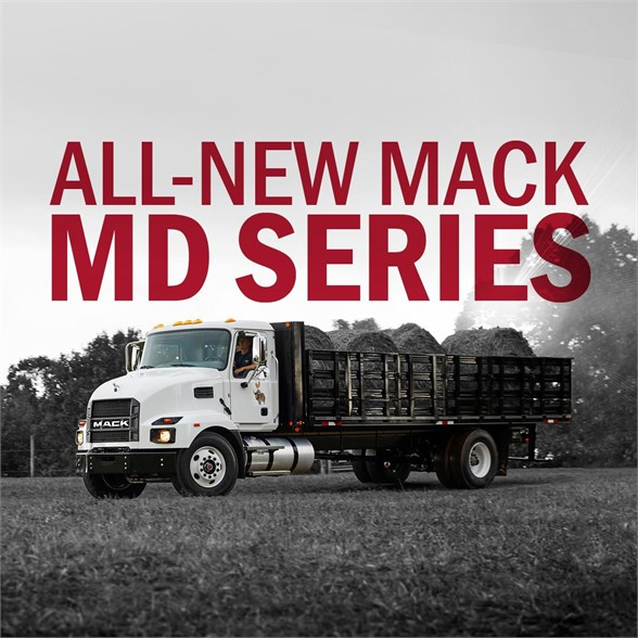 NEW 2021 MACK MD6 CAB CHASSIS TRUCK #1092
