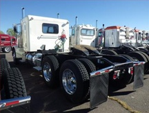 USED 2012 PETERBILT 389 TANDEM AXLE SLEEPER TRUCK #1279-8