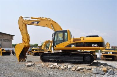USED 2004 CATERPILLAR 330CL EXCAVATOR EQUIPMENT #1100-1