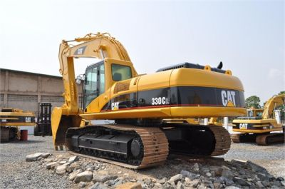 USED 2004 CATERPILLAR 330CL EXCAVATOR EQUIPMENT #1100-3
