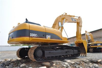 USED 2004 CATERPILLAR 330CL EXCAVATOR EQUIPMENT #1100-7